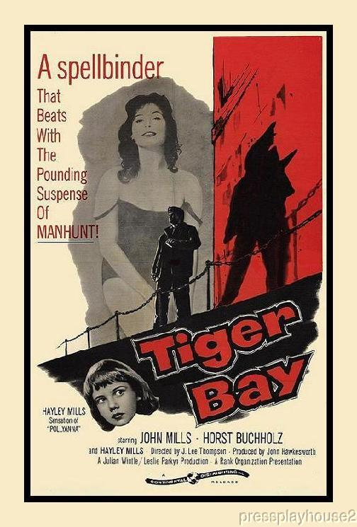 Tiger Bay: DVD, 1959, Hayley Mills, Horst Buchholz, John Mills, Widescreen product photo