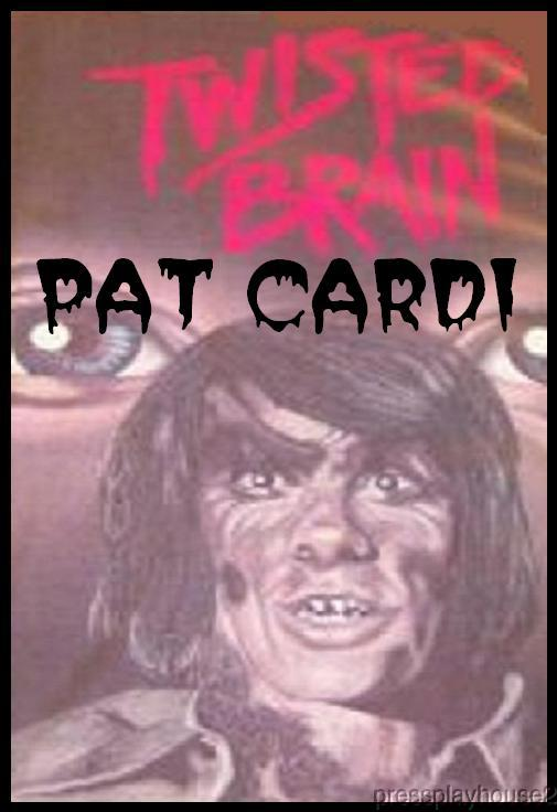 Twisted Brain: DVD, 1974, Pat Cardi, Great Low Budget 70s Cult Horror product photo
