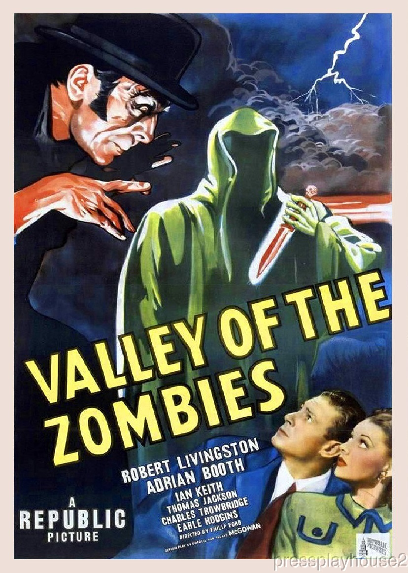 Valley of The Zombies: DVD, 1946, Robert Livingston, Lorna Gray, Rare 40S Horror product photo