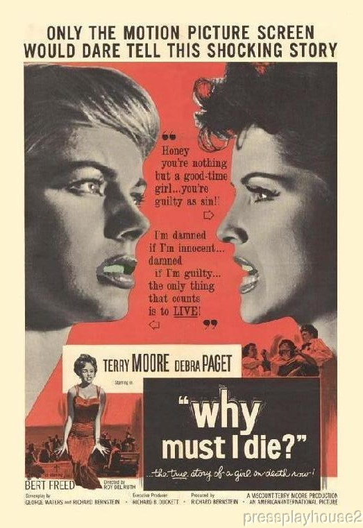 Why Must I Die?: DVD, 1960, Terry Moore, Debra Paget, Sid Melton, Obscure 60s Crime!! product photo