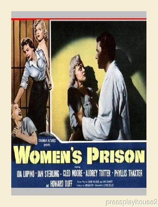 Women's Prison: DVD, 1955, Ida Lupino, Cleo Moore, Audrey Totter, Jan Sterling, Howard Duff, Widescreen product photo