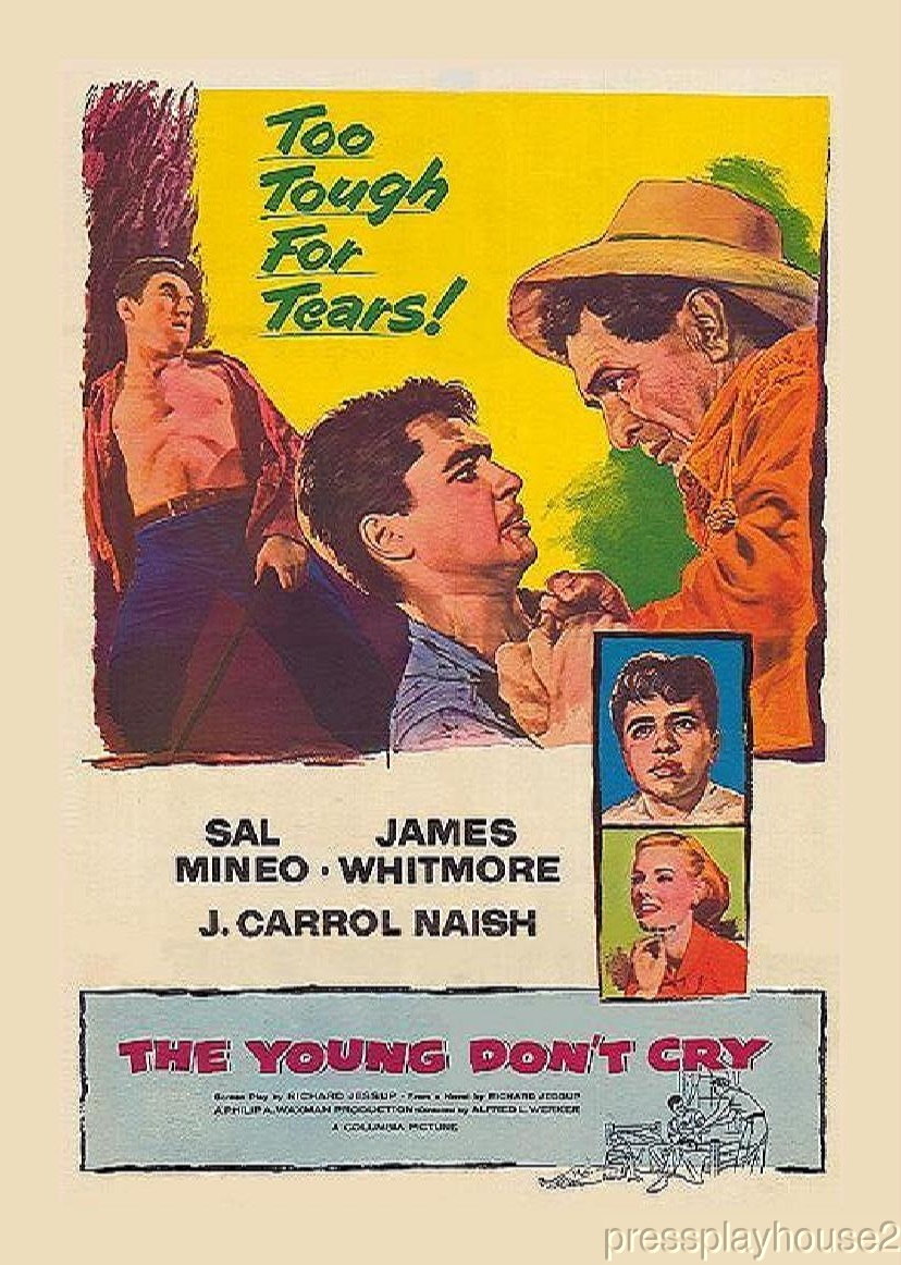 The Young Don't Cry: DVD, 1957, Sal Mineo, James Whitmore product photo