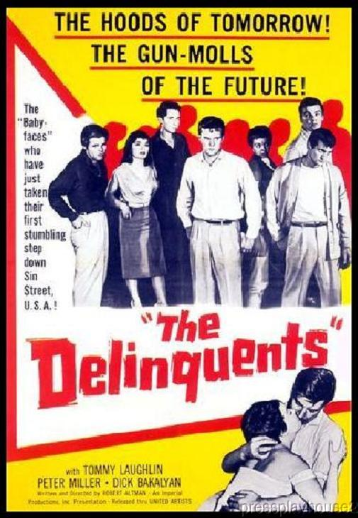 The Delinquents: DVD, 1957, Tom Laughlin, Richard Bakalyan, Peter Miller, Widescreen product photo